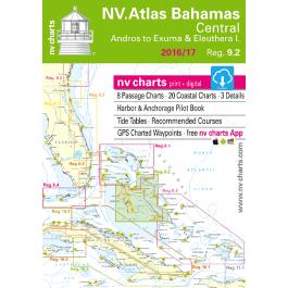 nv-charts Region 9.2, Central Bahamas* America - Bahamas, Caribbean, Paper+CD, 2011