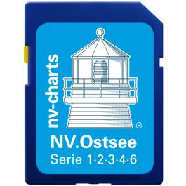 NV. Ostsee / Baltic Sea - Karten & Hafenpläne der Serien 1, 2, 3, 4, und 6