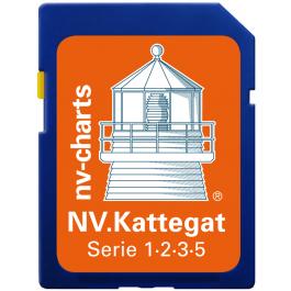 NV. Kattegat - Karten & Hafenpläne der Serie 3, 5.1 + 5.2  inkl. Limfjord - Oslofjord - Götakanal