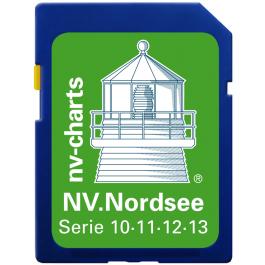 NV. Nordsee / North sea - Karten & Hafenpläne der Serien 10, 11, 12 und 13