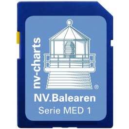 NV. Balearen / Balearic Island  - Karten & Hafenpläne der Serie MED1