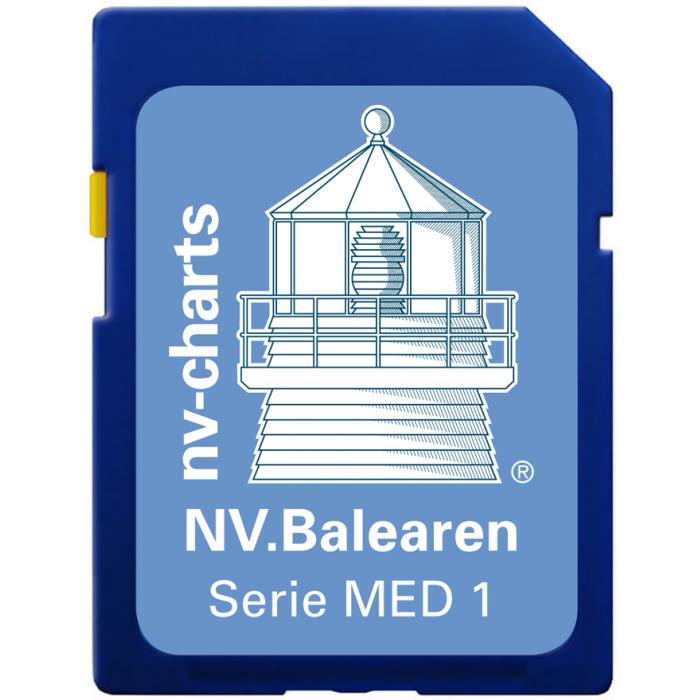 NV. Balearen / Balearic Island - Karten & Hafenpl? ne der Serie MED1 NV. Balearen / Balearic Island  - Karten & Hafenpläne der Serie MED1