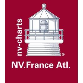 NV. Frankreich Atlantic - Karten & Hafenpläne der Serien FR1, FR2, FR3, FR4, FR5, FR6, FR7 und FR8