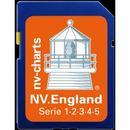 NV. England - Karten & Hafenpläne der Serien UK1, UK2, UK3, UK4 und UK5