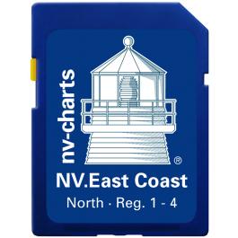 NV. US East Coast North & Bermuda - Karten & Hafenpläne Reg. 1.1, 2.1, 3.1, 3.2, 4.1 und 16.1
