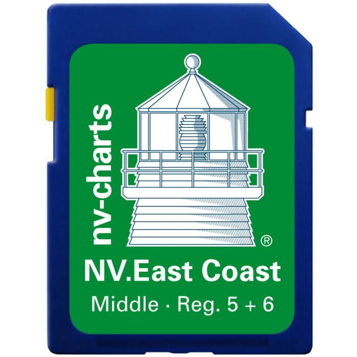 NV. US East Coast Middle & Bermuda - Karten & Hafenpl? ne Reg. 5.1, 5.2, 6.1, 6.2, und 16.1 NV. US East Coast Middle & Bermuda - Karten & Hafenpläne Reg. 5.1, 5.2, 6.1, 6.2, und 16.1