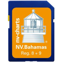 NV. Florida / Bahamas & Bermuda - Karten & Hafenpläne Reg. 8.1, 9.1, 9.2, 9.3 und 16.1