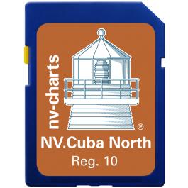 NV. Cuba North & South - Karten & Hafenpläne Reg. 10.1, 10.2, 10.3 und 10.4