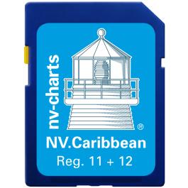 NV. Caribbean & Bermuda - Karten & Hafenpläne Reg. 11.1, 12.1, 12.2, 12.3 und 16.1