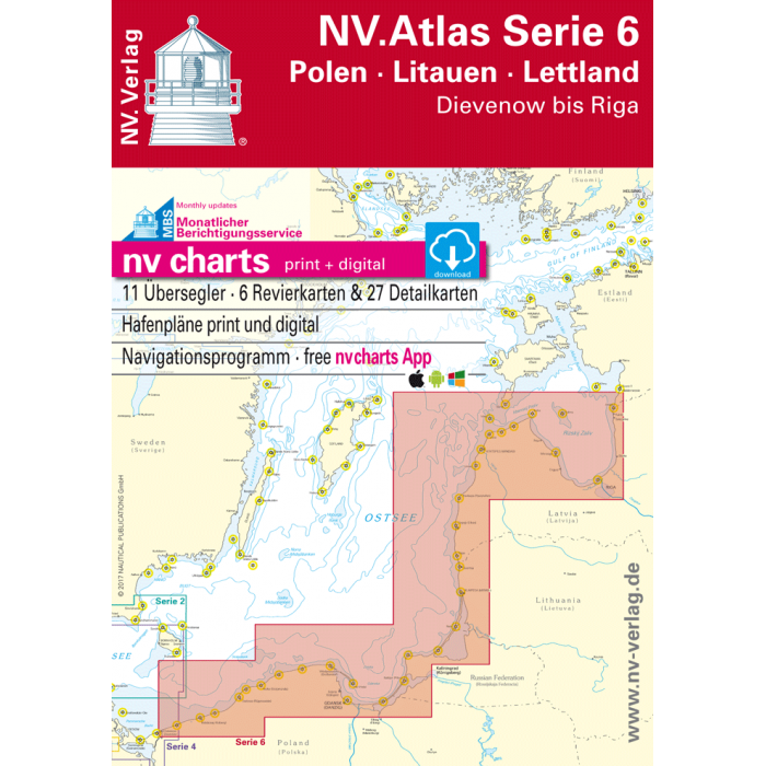 NV. Atlas Serie 6, Polen - Litauen - Lettland* NV. Atlas Serie 6, Polen - Litauen - Lettland*