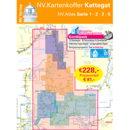 NV. Atlas Kartenkoffer Kattegat