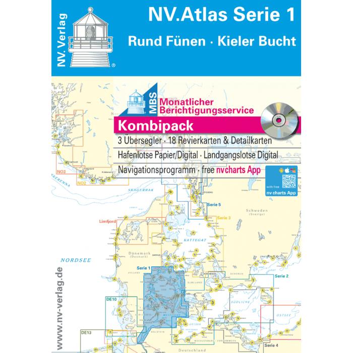 NV. Atlas Serie 1, Rund Fünen-Kieler Bucht NV. Atlas Serie 1, Rund Fünen-Kieler Bucht