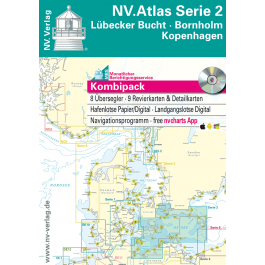 NV. Atlas Serie 2, Lübecker Bucht - Bornholm - Kopenhagen*