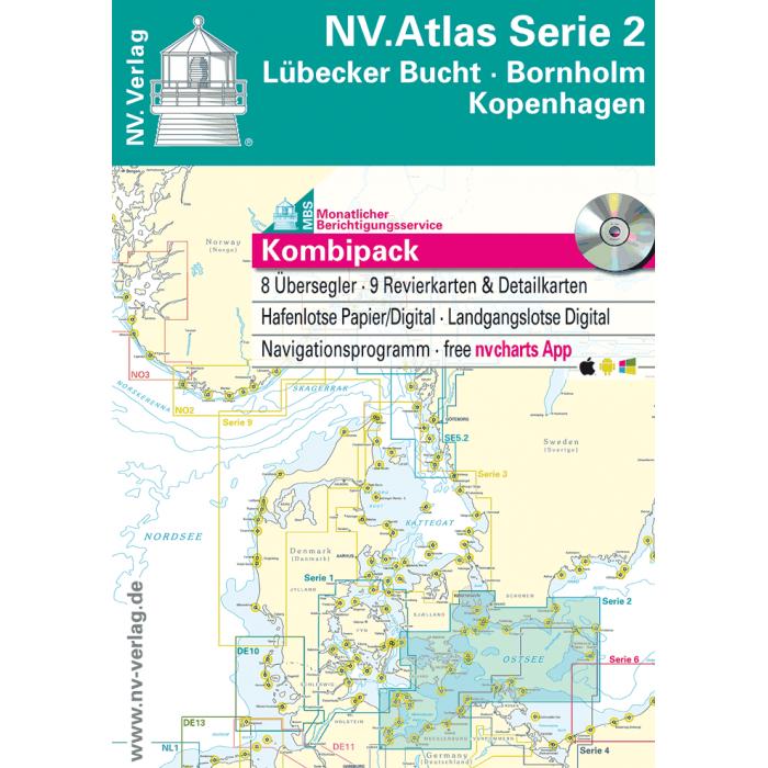 NV. Atlas Serie 2, Lübecker Bucht - Bornholm - Kopenhagen* NV. Atlas Serie 2, Lübecker Bucht - Bornholm - Kopenhagen*