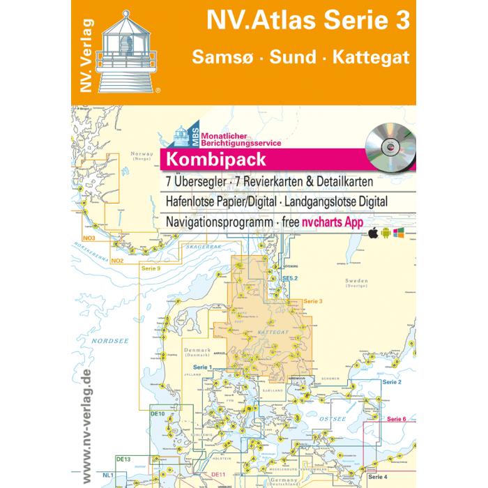 NV. Atlas Serie 3, Sams? - Sund - Kattegat* NV. Atlas Serie 3, Samsö - Sund - Kattegat*