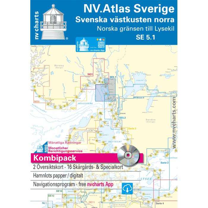 NV. Atlas Sverige SE 5.1 - Svenska V? stkusten Norra NV. Atlas Sverige SE 5.1 - Svenska Västkusten Norra