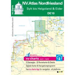 NV. Atlas 10 Nordfriesiche Inseln