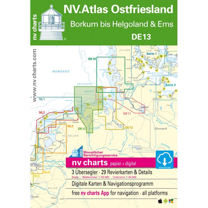 NV. Atlas 13 Ostfriesische Inseln NV. Atlas 13 Ostfriesische Inseln