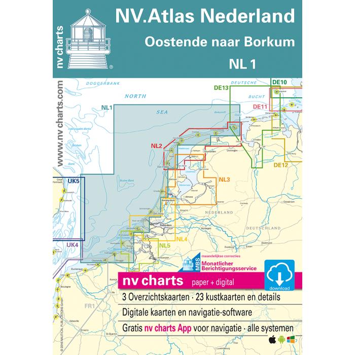 NV. Atlas NL1 - Borkum naar Oostende NV. Atlas NL1 - Borkum naar Oostende