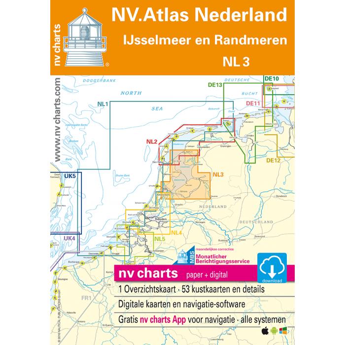 NV. Atlas NL3 - Ijsselmeer en Randmeeren NV. Atlas NL3 - Ijsselmeer en Randmeeren