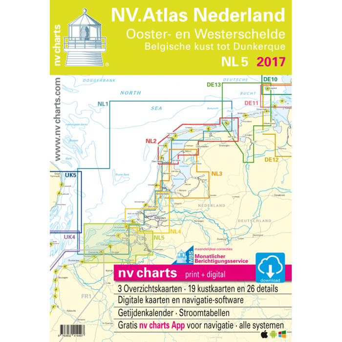 NV. Atlas NL5 - Ooster- & Westerschelde NV. Atlas NL5 - Ooster- & Westerschelde