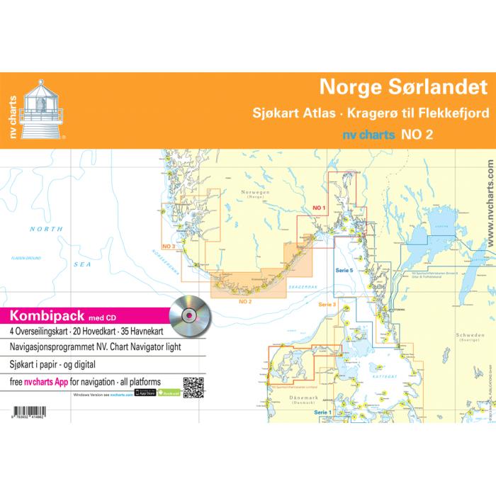NV. Serie NO 2 Norge S? rlandet NV. Serie NO 2 Norge Sørlandet