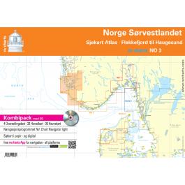 NV. Serie NO 3 Norge Sørvestlandet