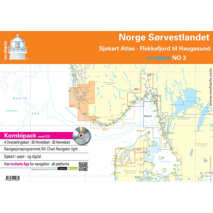 NV. Serie NO 3 Norge S? rvestlandet NV. Serie NO 3 Norge Sørvestlandet