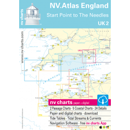 UK 2 - NV. Atlas England - Start Point to The Needles