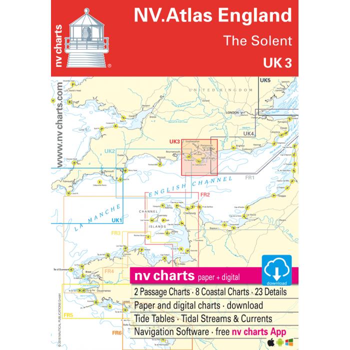 UK 3 - NV. Atlas England - The Solent UK 3 - NV. Atlas England - The Solent