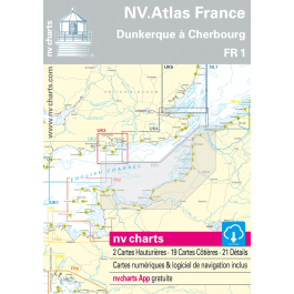 FR 1 - NV. Atlas France - Dunkerque à Cherbourg