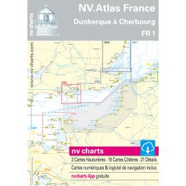 FR 1 - NV. Atlas France - Dunkerque ? Cherbourg FR 1 - NV. Atlas France - Dunkerque à Cherbourg