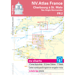 FR 2 - NV. Atlas France - Cherbourg à St. Malo