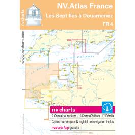 FR 4 - NV. Atlas France - Les Sept Îles à Douarnenez