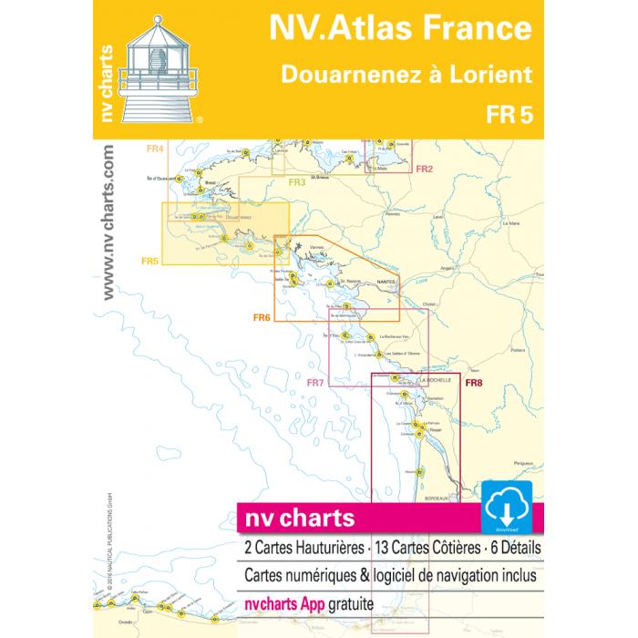 FR 5 - NV. Atlas France - Dourarnenez ? Lorient FR 5 - NV. Atlas France - Dourarnenez à Lorient