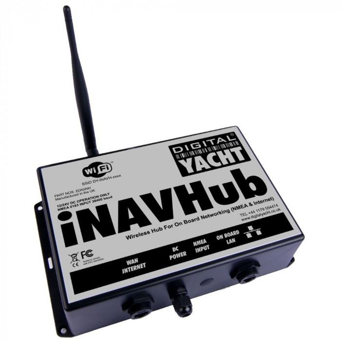 X iNAVHub Navigation Server & WiFi Router iNAVHub Navigation Server & WiFi Router