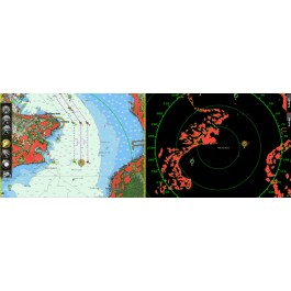 TimeZero Coastal Monitoring 2 radary