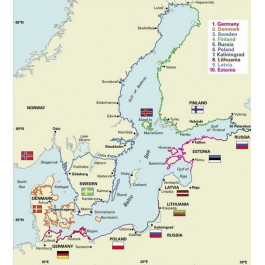 Baltic Sea and Approaches The Baltic Sea and Approaches Map / mapa