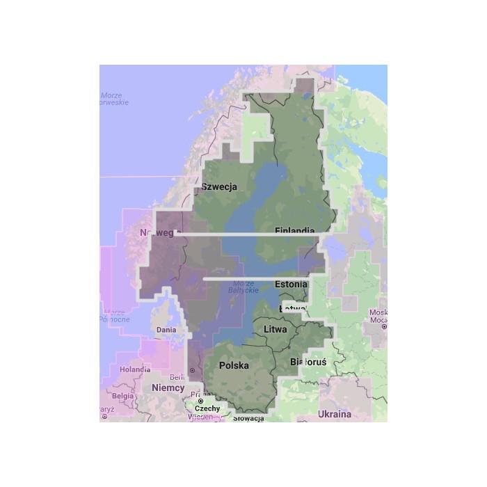 MWVNEN44XGMAP Scandinavia East MWVNEN44XGMAP Scandinavia East