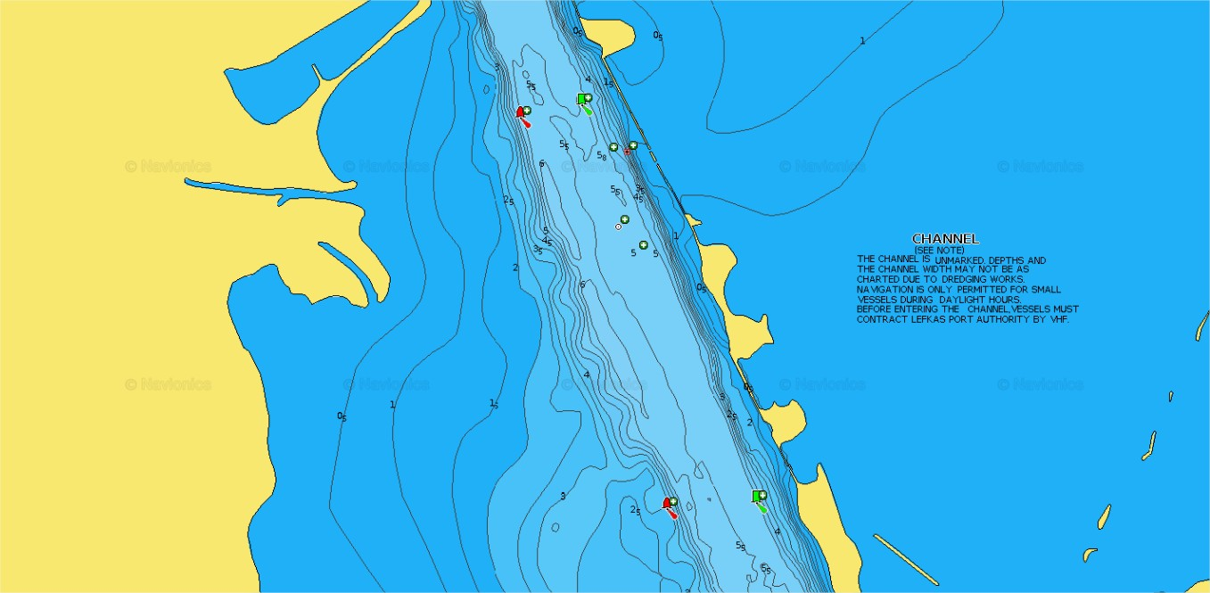 navionics chart viewer Lefkas