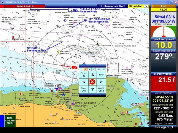 Idealny program do nawigacji morskiej