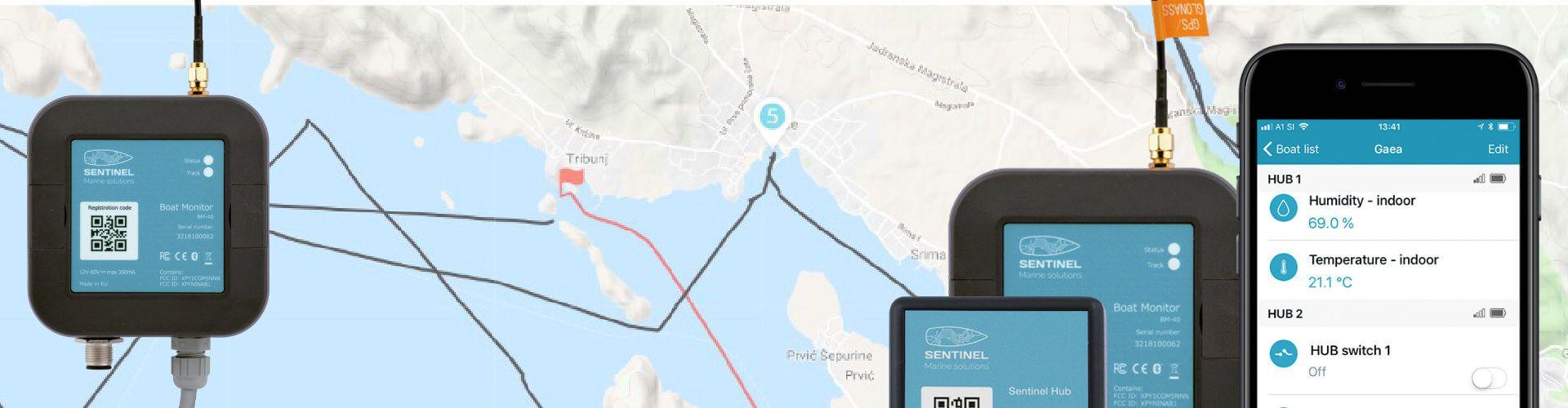 enavigare Monitorowanie jachtu